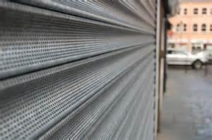 Standard Shop Front Shutters Industrial Door Specialists