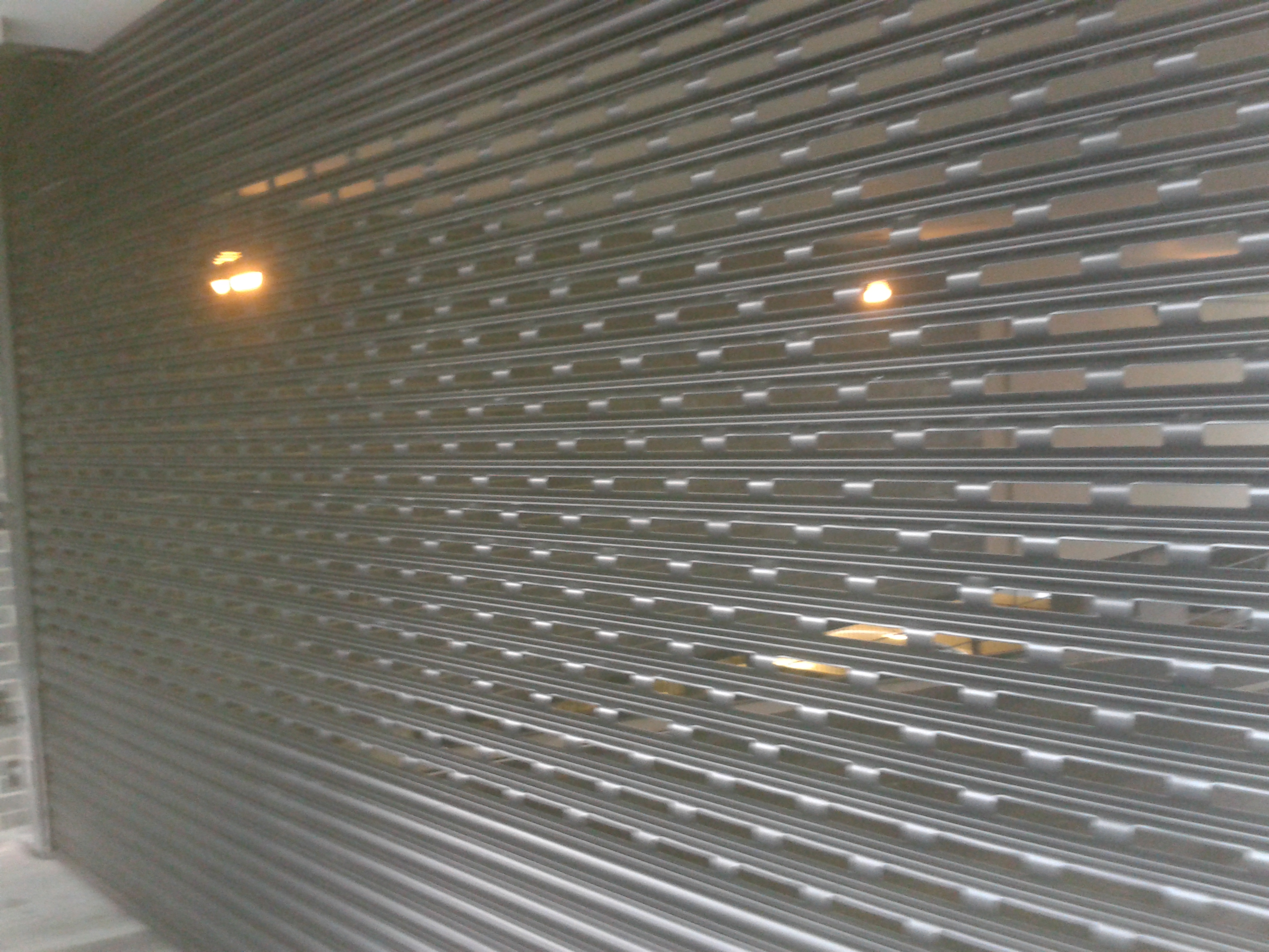 Punched Lath Industrial Door Specialists