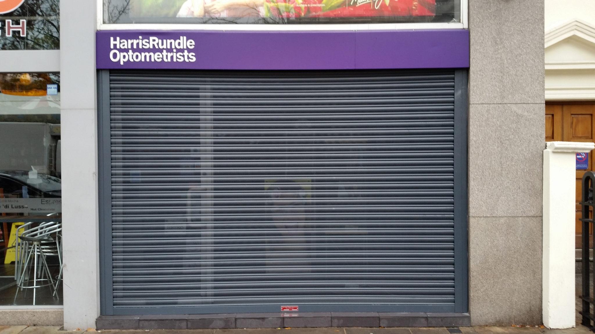 Perforated Commercial Roller Shutter Industrial Door